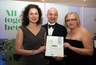 Jane & Terry receive 2013 Lincolnshire People's Choice Award