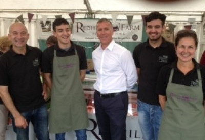 England Cricket Legend Alec Stewart Joins Us At The Lincolnshire Show 2014