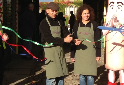 Jane & Terry Officially Open Lincoln Sausage Festival 2013