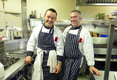 Chefs Chris and Piero (Owner) - San Pietro