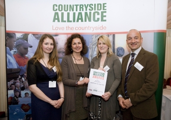 Jane & Terry receive Countryside Alliance Local Food Award