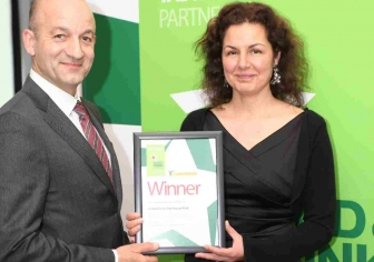 Jane and Terry receive Lincolnshire Producer of the Year award 2012