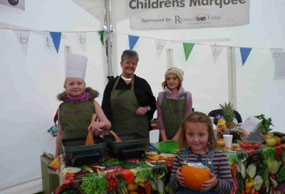 Our Children's Cookery Theatre at the Lincoln Sausage Festival